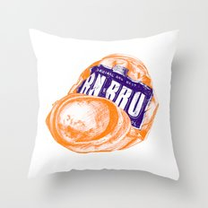 Irn-Bru can Throw Pillow