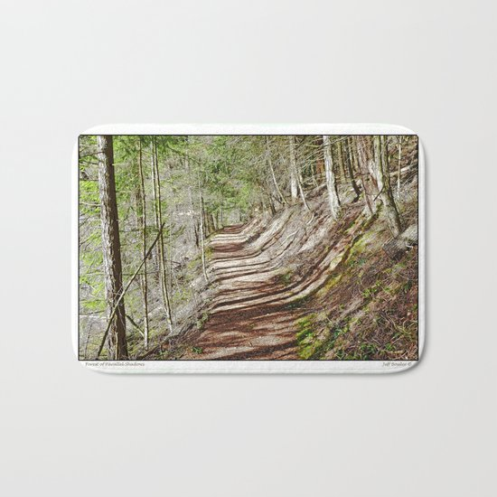FOREST OF PARALLEL SHADOWS Bath Mat