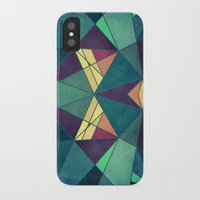 starry night iPhone & iPod Cases featuring Starry Night by VessDSign