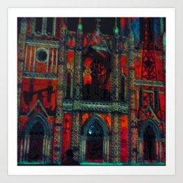 Prayer Pillow Art Print