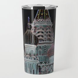 St. Basil's Cathedral v Travel Mug