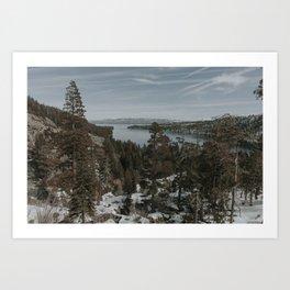 Tahoe in the Spring Art Print