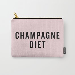 Champagne Diet Funny Quote Carry-All Pouch