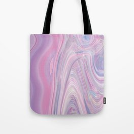 I took a trip and landed in a pastel dream... Tote Bag