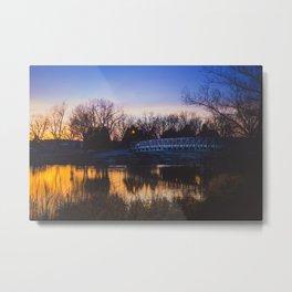 Dalbey Bridge in Spring Metal Print