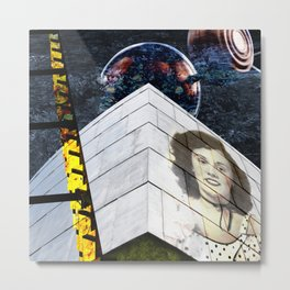 The Architecture of Judith Metal Print