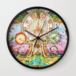 Multidimensional Being Wall Clock
