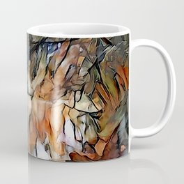 Winter Forest River Coffee Mug