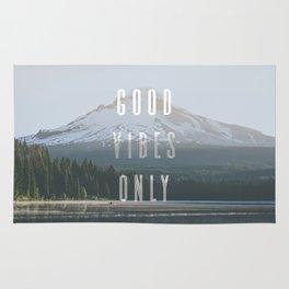 Good Vibes Only - Mt. Hood Rug