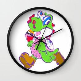 Zombie Yoshi Wall Clock