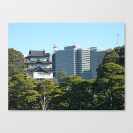 Tokyo, Old & New Canvas Print