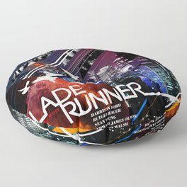 Visions of the Future :: Blade Runner Floor Pillow