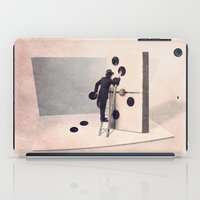 engineer iPad Cases featuring The domino engineer by Yann Pendaries