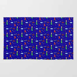 """""""The Little Prince"""" Pattern Rug"""