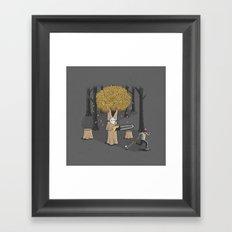 Deforest this Framed Art Print