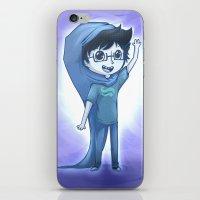 homestuck iPhone & iPod Skins featuring John Egbert by Kurfluffle