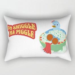 Fo Shiggle Ma Piggle Rectangular Pillow