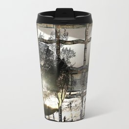 Your prisons, your mountains Travel Mug