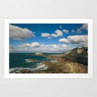 Saint-Malo - France Art Print