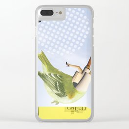 schraeger Vogel · upload Clear iPhone Case