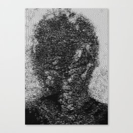 dark fm portrait Canvas Print