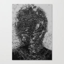 dark fm portrait Canvas Print
