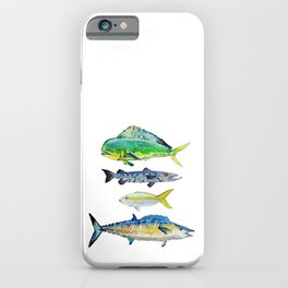 Caribbean Fish iPhone Case