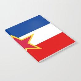 Yugoslavia National Flag Notebook