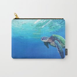 Sea Turtle pattern Carry-All Pouch