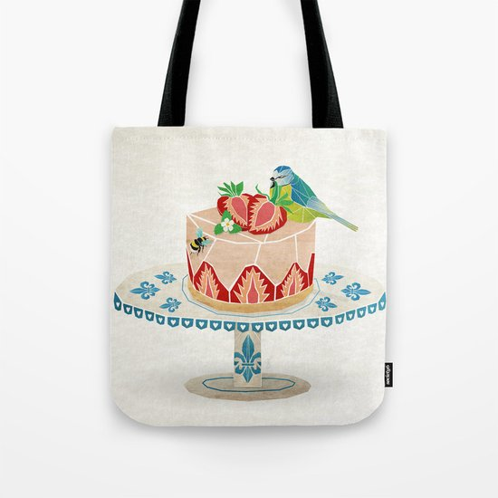 life is short, take a dessert  Tote Bag