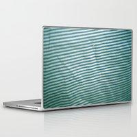 stripe Laptop & iPad Skins featuring stripe by erinreidphoto
