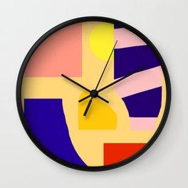 Saguaro desert Wall Clock