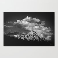 cloud Canvas Prints featuring Cloud by Tomas Hudolin