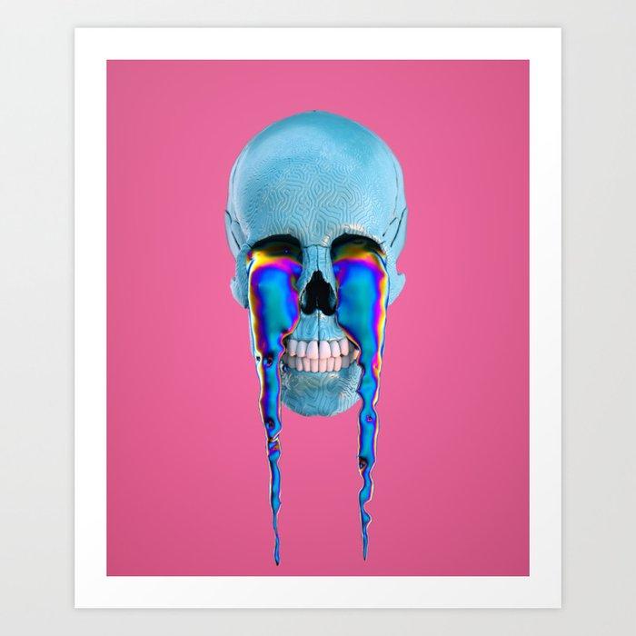 skull 23 aka bacon Art Print