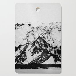 Minimalist Mountains Cutting Board