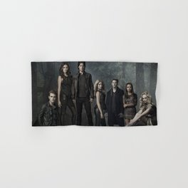 The Vampire Diaries Cast Hand & Bath Towel
