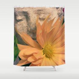 Chrysanthemum Boy Shower Curtain