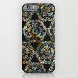 Holographic Mandala - Embossed iPhone Case