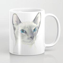 blue point siamese cat 1 Coffee Mug