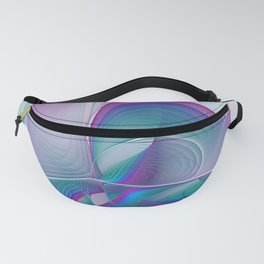 Colorful Beauty, Abstract Fractal Art Fanny Pack