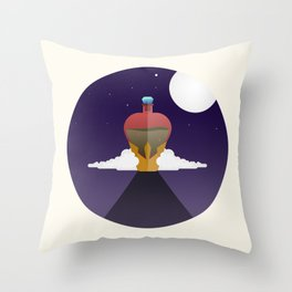 She only wants his love Throw Pillow