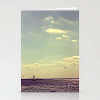 sail Stationery Cards featuring sail by Kearsten Taylor
