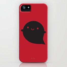 Evil Twin Black Ghost - Kawaii Halloween iPhone Case
