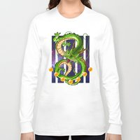dragon ball Long Sleeve T-shirts featuring Dragon by TxzDesign