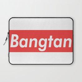 BTS Bangtan red Laptop Sleeve