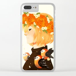 Bloom: Yurio Clear iPhone Case