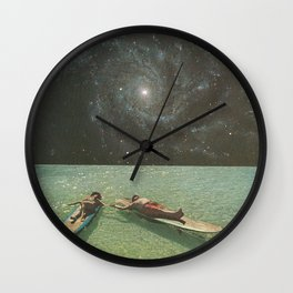 Lovers II Wall Clock