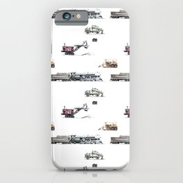 Trains and Machinery iPhone Case