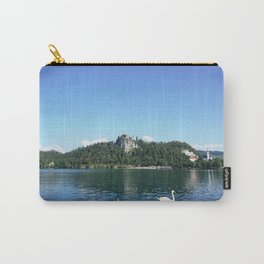 Swans in Bled Carry-All Pouch