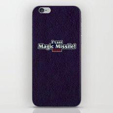 I Cast Magic Missile iPhone & iPod Skin
